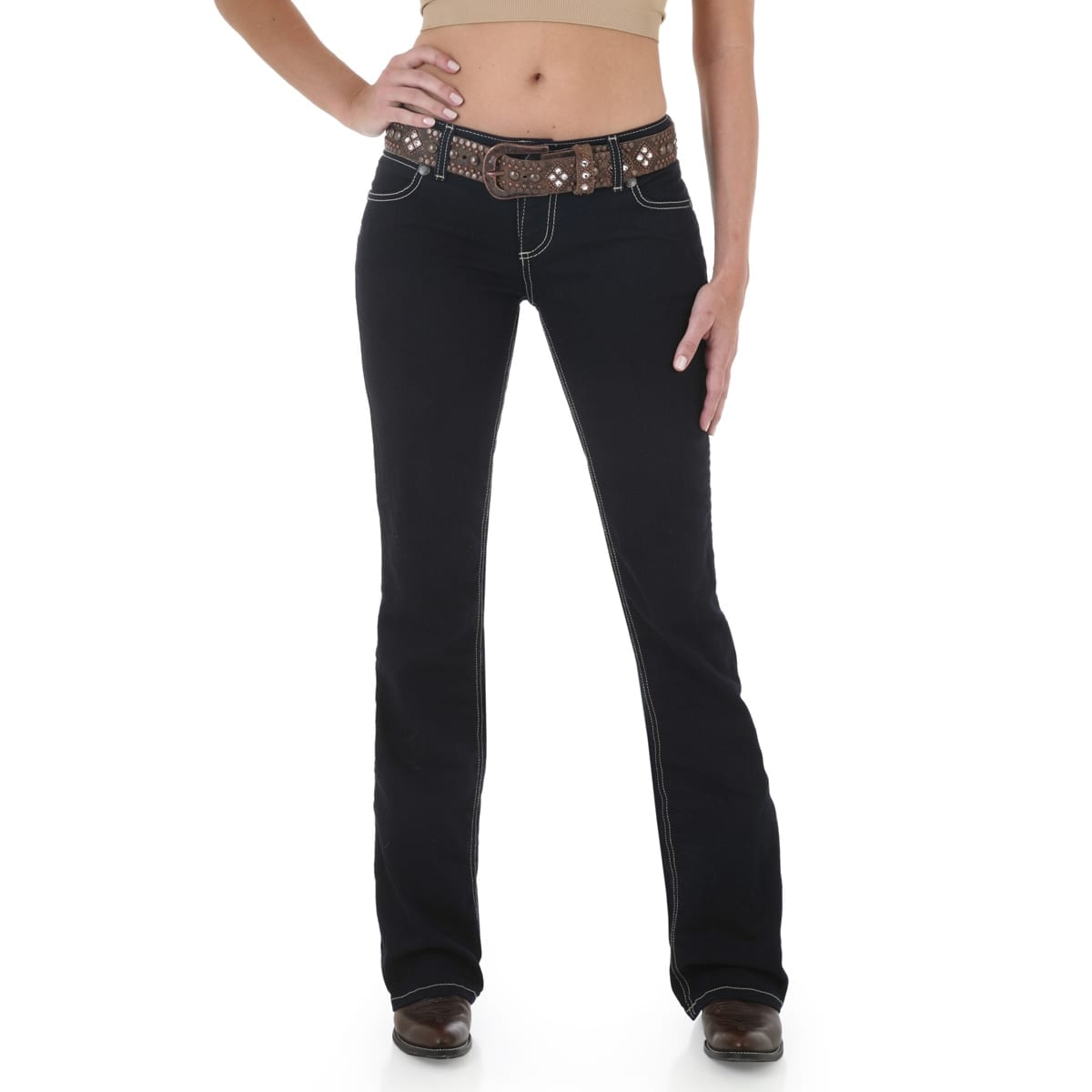 f884cc1ec356 10MWZ Wrangler Premium Patch® with Booty Up™ Technology - Low Rise Jean